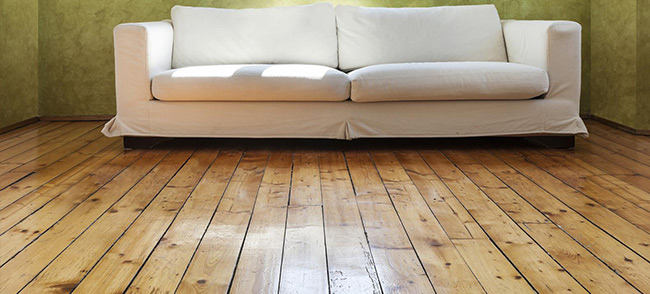 The best way to maintain the finish on your wood floor is to have it recoated periodically.