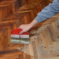 Restaining your wood floors