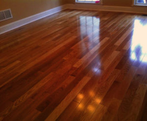 Hardwood Floor Lamination